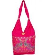 Womaniya Girls Pink Shoulder Bag