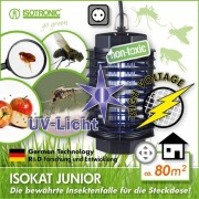 Aparat anti tantari muste cu lampa UV Insect Trap UV1