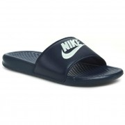 Чехли NIKE - Benassi JDI 343880 403 Midnight Navy/Windchill