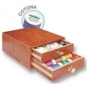 Mini scrin de lemn cu cotona Madeira MAD8114