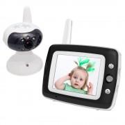 Baby Monitor Smart SI-LiveSmart SM55, WI-FI, Rotire 360, , Talk-Back, Activare Vocala, Cantece Leagan incorporate, Alb Negru