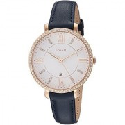 Fossil Analog White Dial Womens Watch-ES4291