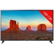 LG TV LED 4K 189 cm LG 75UK6200