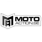 mx crossdelar dekaler Bussdekal till Cross - motoaction - Vit