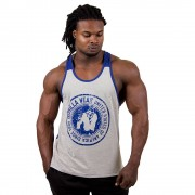 Gorilla Wear Roswell Tank Top - Gray/Navy - 2XL