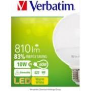 Verbatim LED žarulja Globe E27, 10W, 2700K, 810LM, DIM