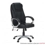 Scaun birou cu func ie de masaj negru TYLER UT C2652M