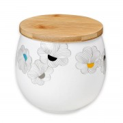 Mr & Mrs Clynk Porcelánová dóza s květinovým potiskem
