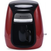 Wonderchef 8904214707729 Personal Coffee Maker(Red, Black)