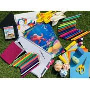 Gyerek kreatív készlet: 3-7 éves korig