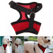 Adjustable Comfort Soft Breathable Dog Harness Pet Vest Rope Dog Chest Strap Collar Leads
