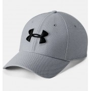 Under Armour Men's UA Heathered Blitzing 3.0 Cap Gray L/XL