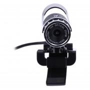 Streaming HD Webcam Cámara panorámica micrófono USB para ordenador por