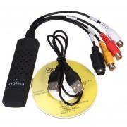 Capturadora De Video Usb 2.0 Cable De Audio De Tv S-Video Dispositivo