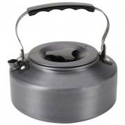 ER 1.1L Caldera De La Comida Campestre Que Acampa De Utensilios De Cocina Tetera De Agua Cafetera De Aluminio Al Aire Libre-gris