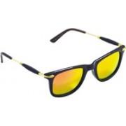 arko Wayfarer Sunglasses(Yellow, Orange)