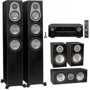 Pachete PROMO SURROUND - Monitor Audio - Silver 300 5.0 + Denon AVR-X2600H Natural Oak