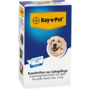 Bayer BAY O PET Zahnpfl.Kaustreif.f.gr.Hunde 140 g