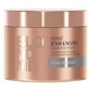 Schwarzkopf Professional Vyživující maska pro zvýraznění chladných blonďatých odstínů BLONDME (Tone Enhancing Bonding Mask Cool Blondes) 200 ml