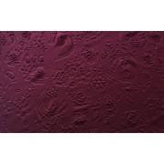 Rugalmas bordó buklé textil-150cm széles