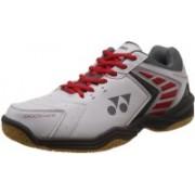 Yonex SHB 46 EX Badminton Shoes For Men(Red, White)
