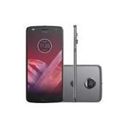 Smartphone Motorola Moto Z2 Play Dual Chip Android 7.1.1 Nougat Tela 5,5 Octa-Core 2.2 GHz 64GB Câmera 12MP - Platinum