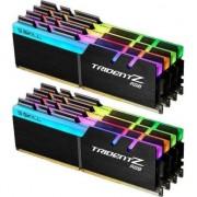 Memorie ram g.skill Trident RGB, DDR4, 128 GB, 3200MHz, CL15 (F4-3200C15Q2-128GTZR)
