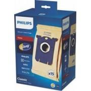 Set 15 saci de aspirator Philips S-Bag FC801903