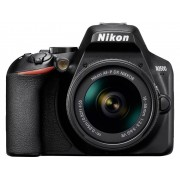 Nikon D3500 Kit Digitale spiegelreflexcamera Incl. AF-P 18-55 mm VR 24.2 Mpix Zwart Bluetooth, Full-HD video-opname