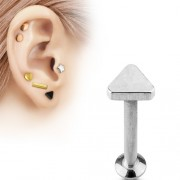 Helix piercing triangle chirurgisch staal 8mm