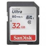SanDisk Karta SDHC, 32 GB, SanDisk Ultra® SDSDUNC-032G-GN6IN, Class 10, UHS-I
