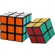Set of Shengshou Rubik's Cube-2x2+3x3 Shengshou Magic Cube Puzzle Set (Black)