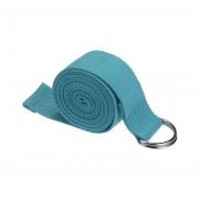 Yoga Estiramiento De La Correa De D-Ring De La Correa De La Cintura De La Pierna Fitness 180 CM Ajustable-Azul