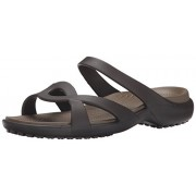 Crocs Meleen Twist Women's Espresso/Walnut Sandals [Shoes]_202497-23B-W8