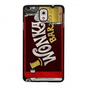 Cool Wonka Bar Pattern Phone Case for Samsung Galaxy Note 4 (Black)