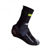 castelli Cubre zapatillas Castelli Cannondale Garmin Aero Shoecover Rm Black / Sprint Green