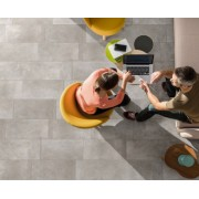 Gresie portelanata Sintesi Italia, Ambienti Greige 60,4x60,4 cm -AMBG604604