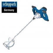 Електрически миксер за строителни разтвори Scheppach PM1200