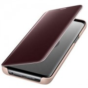 Калъф за Samsung S9 Clear View Standing Cover Gold, Златист, EF-ZG960CFEGWW