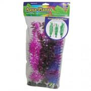 PENN PLAX Umelé rastliny 40,6cm farebné 3ks sada