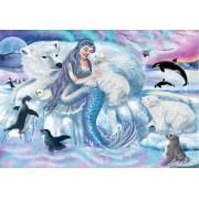 Puzzle Ravensburger - Aventura Sirenei, 2x24 piese (07834)