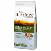 True Instinct No Grain Junior Medium-Maxi con salmón - Pack % - 2 x 12 kg