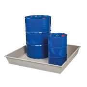Plastová záchytná vana - délka 125,5 cm, šířka 125,5 cm a výška 18,2 cm
