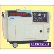 Alfa Centauri XHG5000SE diesel motoros áramfejlesztő