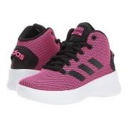 adidas Kids Cloudfoam Refresh Mid (Little KidBig Kid) Shock PinkCore BlackFootwear White