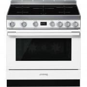 SMEG Cpf9ipwh Cucina 90x60 5 Zone A Induzione Forno Elettrico Termoventilato 115
