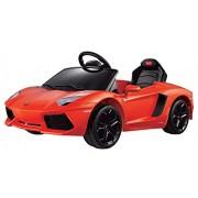 Vroom Rider Lamborghini Aventador LP700-4 Rastar 6V Battery Operated/Remote Controlled Ride-On, Orange
