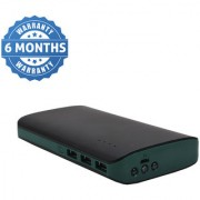 Gizmobitz Power Bank Techno 3 Light 3 USB 20000 Mah - Black