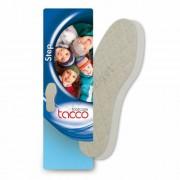 Kétrétegű téli gyapjú talpbetét, Tacco Step 629, 35-36