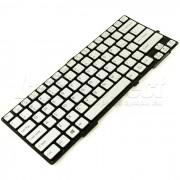 Tastatura laptop Sony VAIO SVS13122CXB argintie + CADOU